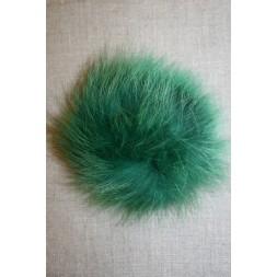 Pels-pompon af ræv, 10-12 cm. grøn-20
