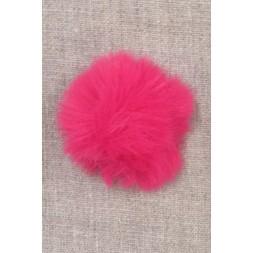 Pels-pompon i akryl i pink, 5 cm.-20