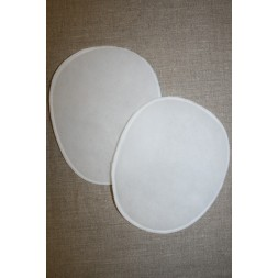 Skulderpude tynd oval, hvid-20