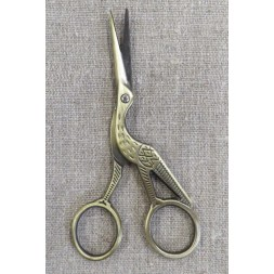 Storkesaks i antik guld 11½ cm.-20