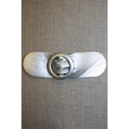 Bælte-lukning 40 mm. sølvgrå-20