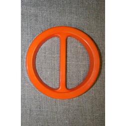 Plast spænde rundt 50 mm. orange-20