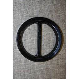 Plast spænde rundt 50 mm. sort-20