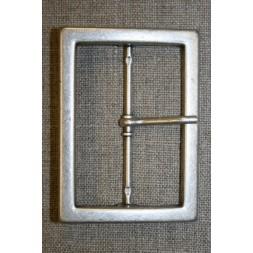 Spænde med dorn, gl.sølv 60 mm.-20