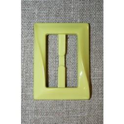 Plast spænde aflang 30 mm. lys lime-20