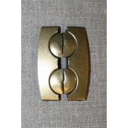 50 mm. spænde til elastikbælter, gl.guld-20
