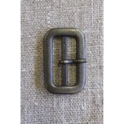 Spænde med dorn/split, gl.guld 25 mm.-20