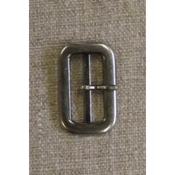 Spænde med dorn/split, gl.sølv 25 mm.-20