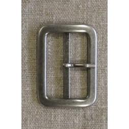 Spænde med dorn/split, gl.sølv 40 mm.-20