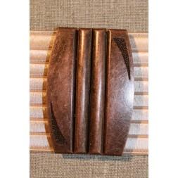 60 mm. spænde til elastikbælter kobber-20