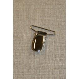Seleclips i sølv 30 mm.-20
