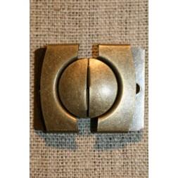30 mm. spænde til bælter, gl.guld-20