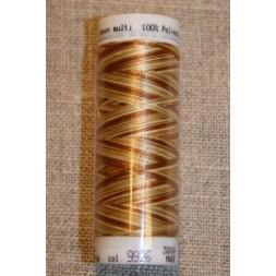 Broderitråd Mettler, multi gyldenbrun-creme-20