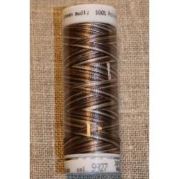 Broderitråd Mettler, multi mørkebrun-brun-kit-20