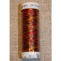 Broderitråd Mettler, multi rød-pink-grøn-gul-20