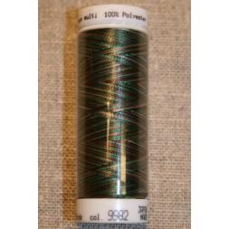 Broderitråd Mettler, multi mørkegrøn-brun-beige-20