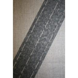 Stanse-/linningsbånd, grå-20