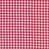 Bomuld ternet hvid/rød 5x5 mm.-01
