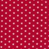 Bomuld m/stjerner, rød/hvid-01