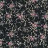 Bomuld m/blomster/bånd sort/rosa/oliven-05