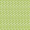 Bomuld m/lille mønster hvid/grøn-01