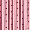 Rest Bomuld m/striber/stjerner, hvid/rød 85 cm.-05