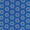 Bomuld m/cirkel/blomst, klar blå-01