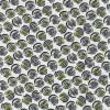 Rest Bomuld/polyester m/cirkel-mønster hvid/sort/lime-gul 35-44 cm-03