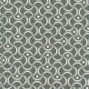 Bomuld mønstret støvet grøn/hvid-03