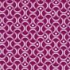 Bomuld mønstret cerisse/hvid-03