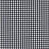 Bomuld ternet hvid/sort 4x4 mm.-05