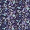 Bomulds-poplin med blomster mørkeblå/denim/lilla-03