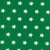 Bomuld med stjerner græsgrøn og hvid-07