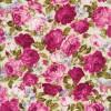 Bomuldspoplin med roser off-white/rosa/lyserød-04