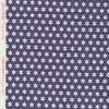 Bomuld med stjerner støvet mørkeblå hvid lyserød-09