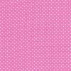 Bomuld m/hvide små prikker, lyserød-01