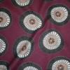 Bomuld/polyester m/cirkler lilla/grå/sort-01