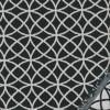 Bomuld/polyester m/cirkler sort/knækket hvid-05