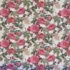 Gobelin i offwhite med roser i rød, rosa og creme-04