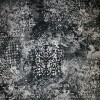 Bomuld m/stræk og mønster, sort/grå-03