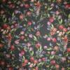 Cowboy med stræk digital print blomstret sort rød lilla-011