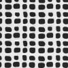 Bomuld med stræk i hvid med sorte uens firkanter-07