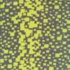 Micro Fleece med firkanter i grå og neon gul-016