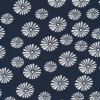 Hør blåt hørstof m blomster-01