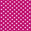 Bomuld/lycra økotex med prikker i pink og hvid-05