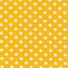 Bomuld/lycra økotex m/prikker, gul/hvid-05