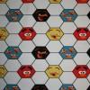 Bomuld/lycra økotex m/digitalt tryk,Angry Birds m/fodbold-05