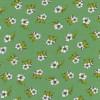 Bomuldsjersey GOTS semi-digital støvet grøn med blomster-016