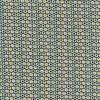 Bomuldsjersey økotex med små cirkler i hvid flaskegrøn lime brun-015