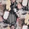 Bomuldsjersey med digitalprint med strib og blomster i sort og pudder-016